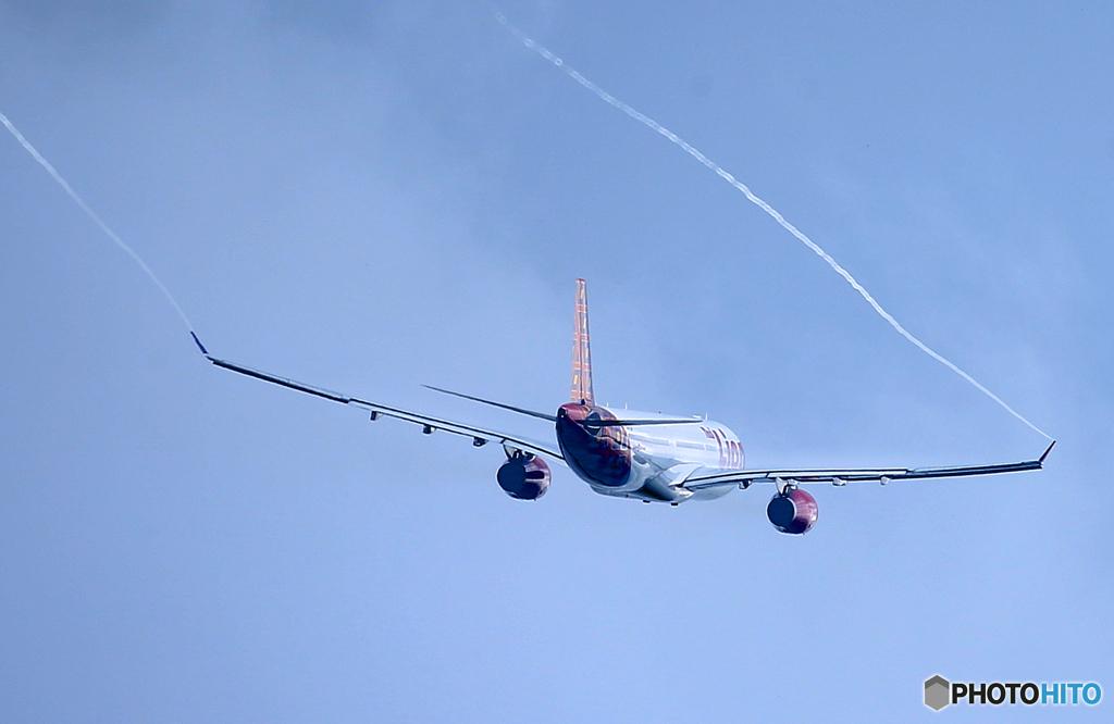 「スカイ」 Lion Air A330-343 HS-RAM 離陸