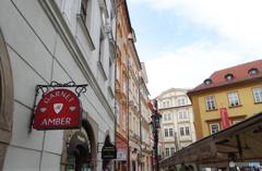チェコ(513)プラハの街・お土産を探して歩く?