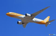 「そらー」 scoot 787-9 9V-OJG Takeoff