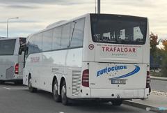「青色が好き」(653)旅の友 ヨーロッパ・ ツアー BUS