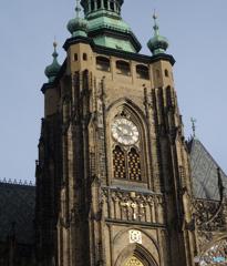 プラハ(388)聖ヴィート大聖堂の時計