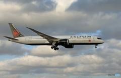 「はれ」 Air Canada 787-9 C-FVNB 着陸