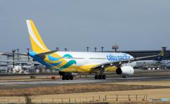 「はれ」 CEBU A330-300 RP-C3342 離陸
