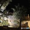 チェコ南部(626)夜のチェスキー・クルムロフ城