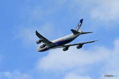 ☆「ブルー」コロナ禍で活躍する貨物機 NCA 747-8KZF