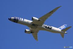 「青が好き」 ANA [STAR WARS] 787-8 Takeoff