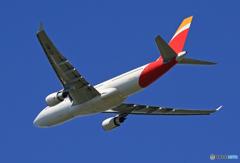 「青が好き」 IBERIA A330-202 EC-MSY Takeoff