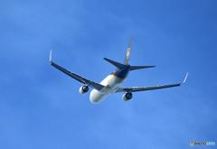 ☆「ブルー」コロナ禍で活躍する貨物機 UPS 767