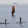 「スカイ」ウインドサーフィンとSUP