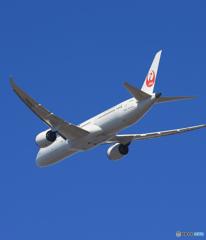 「あおいそら」 JAL 787-9 JAL869J Takeoff