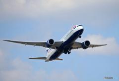 「令和」 British 787-9 G-ZBKI 記念