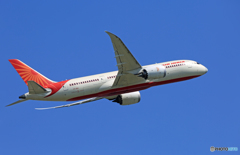 「すかい」 Air India 787-8 VT-ANJ 出発