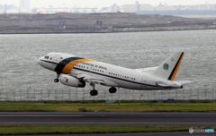 「青くない日」ブラジル機  A319-133 VC-I2101