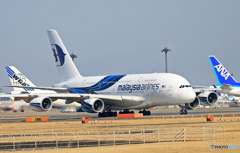 「令和」 Malaysia A380-841 9M-MNB 記念