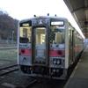 網走駅にて