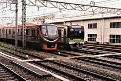 高幡不動駅にて