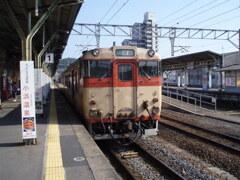 諫早駅にて