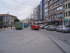 イスタンブールの路面電車