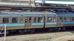 高尾駅にて