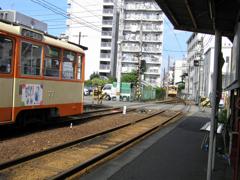 木屋町駅にて