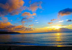 奄美の夕日