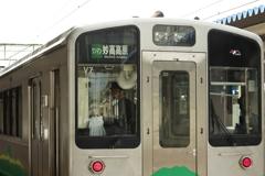 松本~糸魚川~長野 直江津で乗り換え