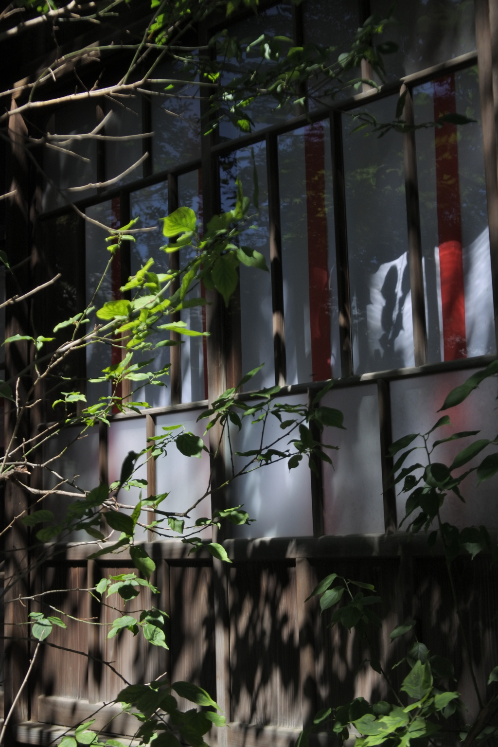 七社神社 社殿の廊下