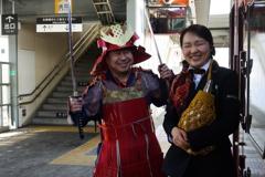 上田駅でのおもてなし
