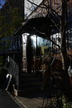 東京散歩 神楽坂 午後の陽射し