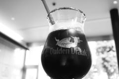 ドラゴンのマークのグラス