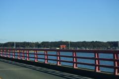 鹿島神宮 神宮へ続く橋