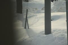 松本~糸魚川~長野 積もる雪
