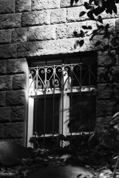 日の当たる窓