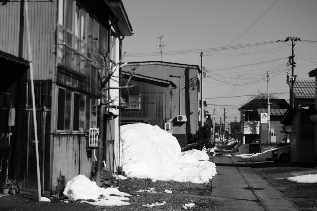 高田の路地裏