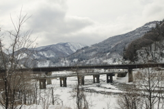 松本~糸魚川~長野 大糸線車窓