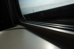 北陸新幹線に乗って