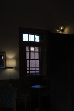 しなの鉄道 軽井沢駅旧駅舎 2階の灯り
