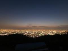 夜景 生駒山