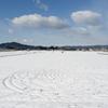 残雪風景6