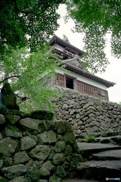 丸岡城天守2001