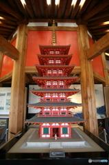 上野国分寺 七重塔復元模型