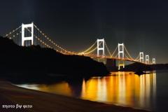 橋と海が輝く時