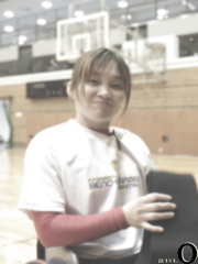 Smile after practice.
