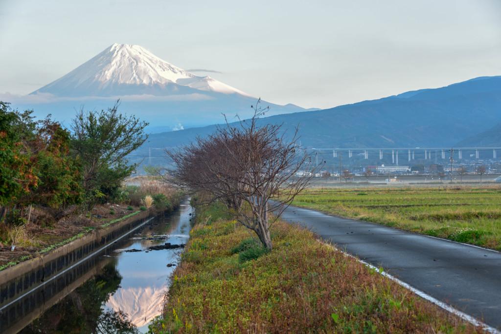 富士山は冬