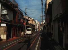 京都の日常の街並み