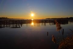 湖畔の目覚め