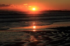 大晦日の朝陽
