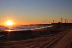 朝暘の海辺