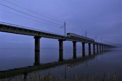 霧のJR鹿島線