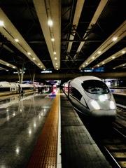 Hongqiao rail way station